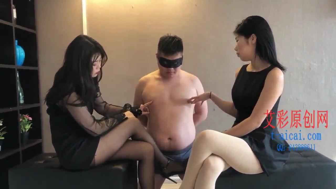 Two-tone stockings small masters unite slaves