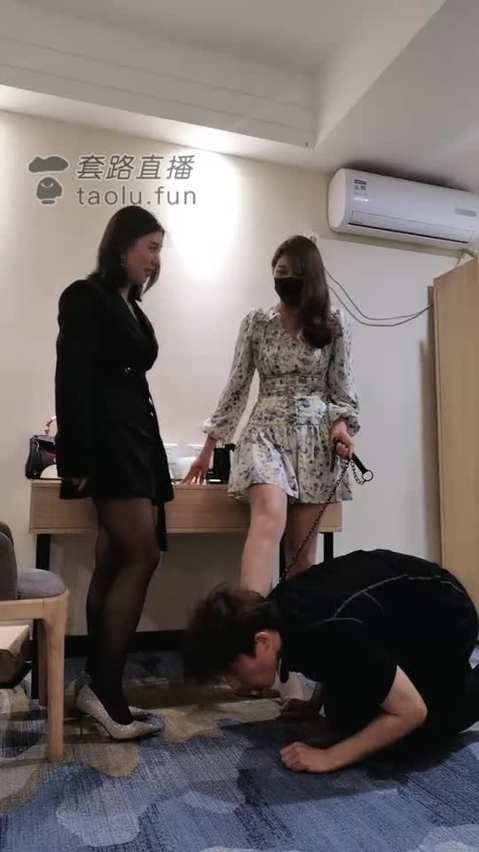 Take 500 slaps on Xiaoqiu with amateur girlfriends